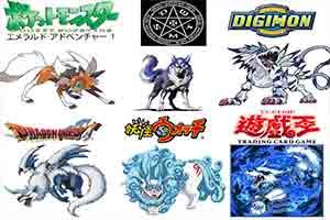 6大动漫作品同物种怪兽比较 风格天差地别哪个是你最爱?