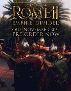 罗马2:全面战争皇帝版 集成帝国分裂DLC